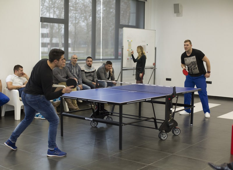 mikroe table tennis tournament