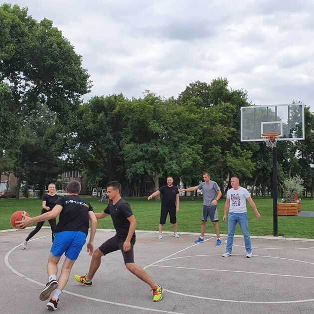 mikroe basketball tournament charity