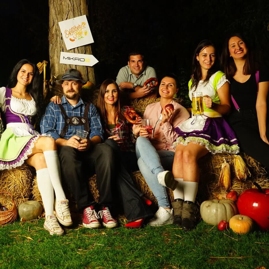 mikroe October fest party