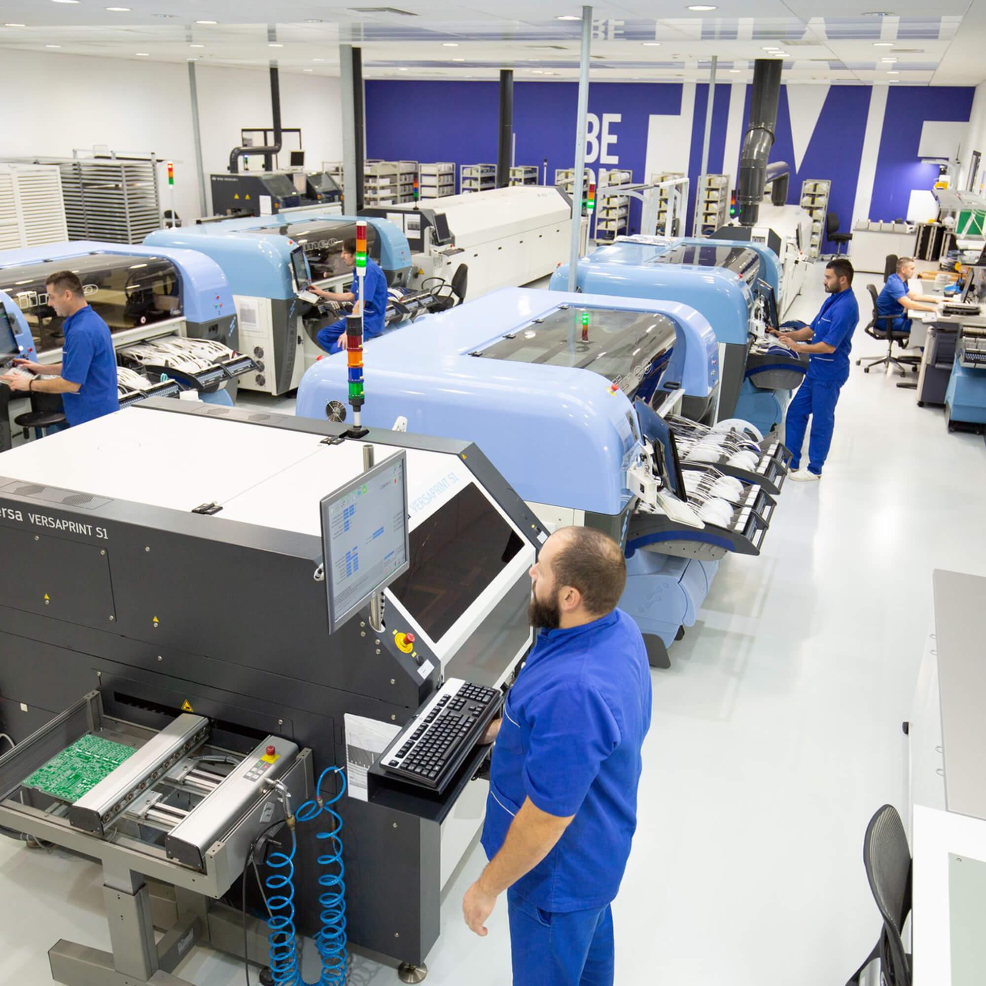 mikroe production lines