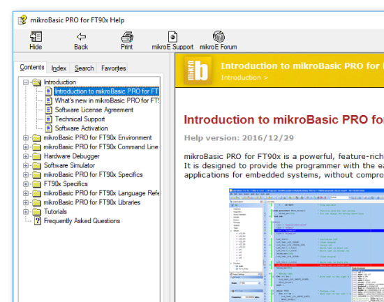 Comprehensive help file