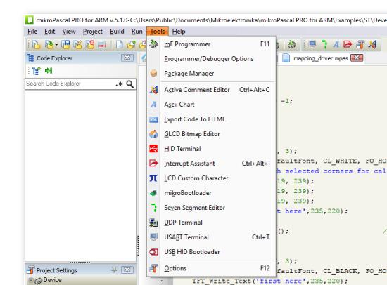 Ascii Bitmap Table