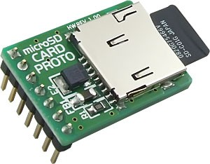 microSD Card PROTO Board has been released