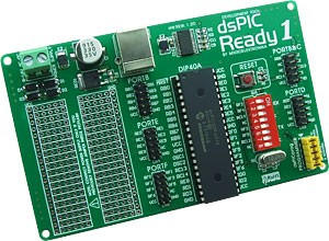 dsPIC-Ready1 Board has been released