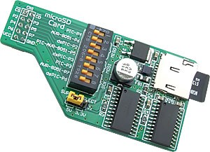microSD Card Board has been released