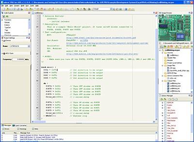 New mikroC PRO for AVR v3.20 BETA released