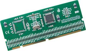 New 100-pin MCU Card with PIC32™MX795F512L