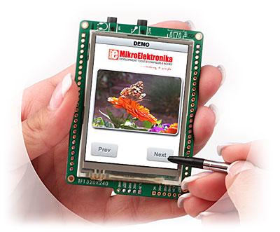 New PIC Tool - mikroMMB for PIC18FJ Board