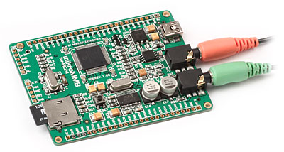 mikroMMB for PIC24 Board