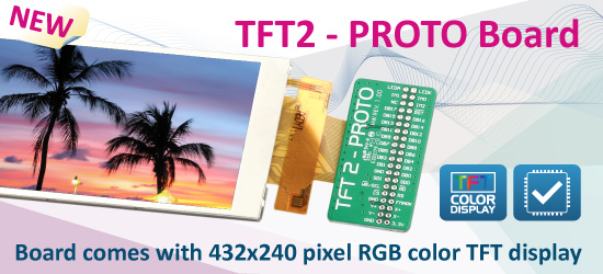 TFT2 - PROTO Board has been released