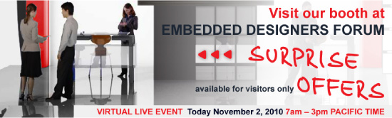Visit MikroElektronika on Embedded Designer's Forum