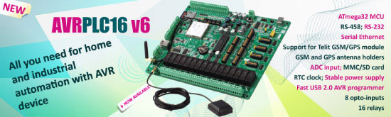 AVRPLC16 v6 is available for sale