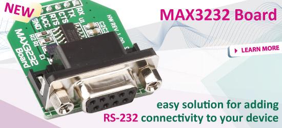 New: MAX3232 Board