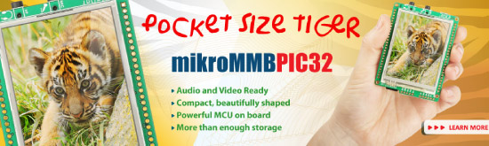 mikroMMB for PIC32