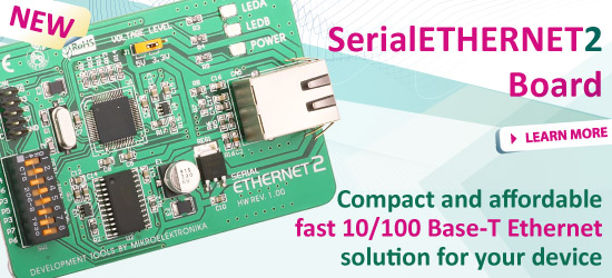 New: Serial Ethernet 2 Board
