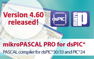 mikroPascal PRO for dsPIC