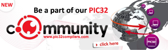 Join PIC32 community page