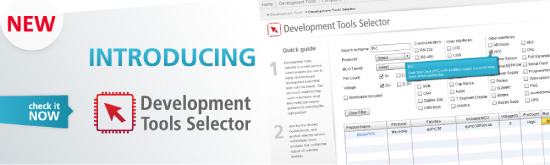 Introducing Development Tools Selector