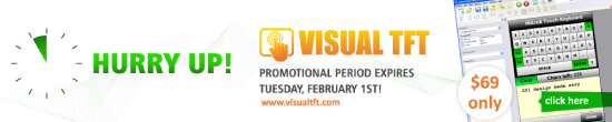 Visual TFT Promo Period Expires Soon