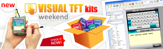 Visual TFT Kits Available