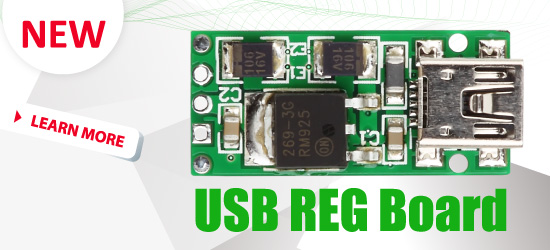 USB-REG Board is now available for sale
