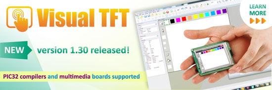 New Visual TFT software v1.30 released!