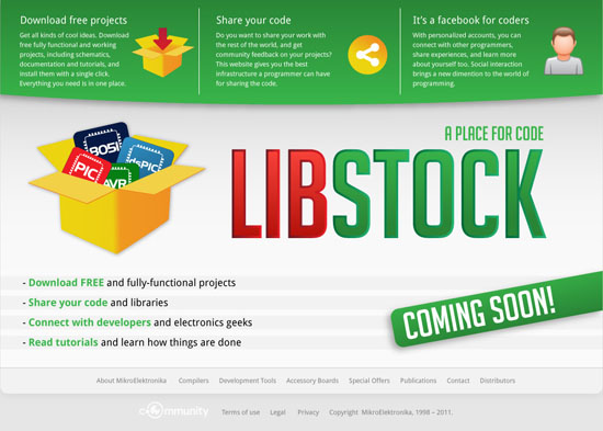 Announcing LIBSTOCK - Your place for code and libraries