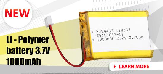 Li-Polymer batteries on sale