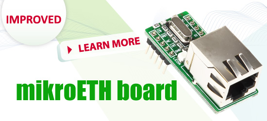mikroETH Board Improved