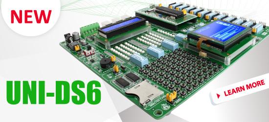 New: UNI-DS6 universal development system