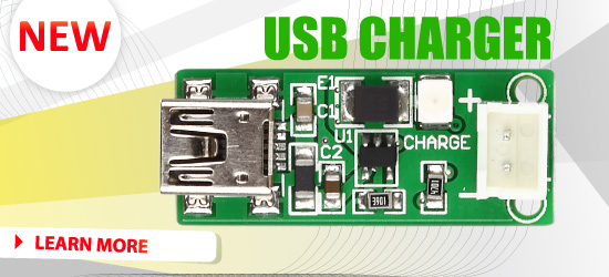New: USB CHARGER Board released