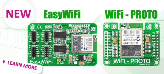 Wifi PROTO and EasyWiFi Boards Improved!