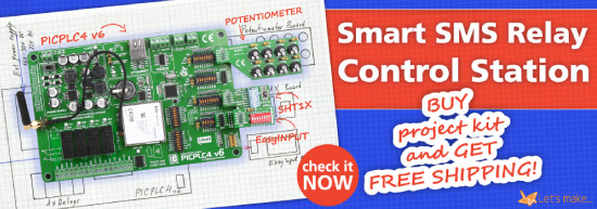 Smart SMS Relay Control Station