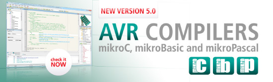 New AVR compilers v5.00 have arrived!
