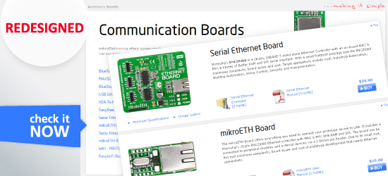 Communication Boards Page Redesigned