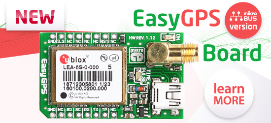 EasyGPS - mikroBUS version released!