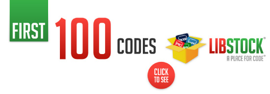 Libstock's First 100 Codes!