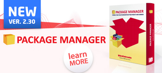 Package manager version 2.30 released!
