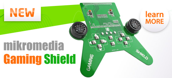New mikromedia GAMING shield released!