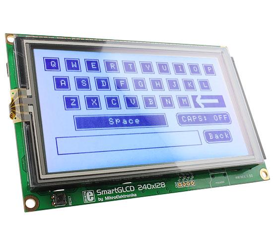 SmartGLCD 240x128 review by Roman Black