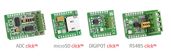 Four New Click Boards Released!
