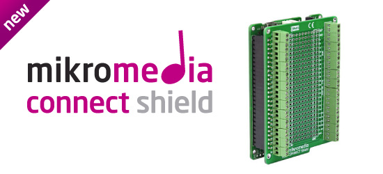 New mikromedia Connect Shield Released!