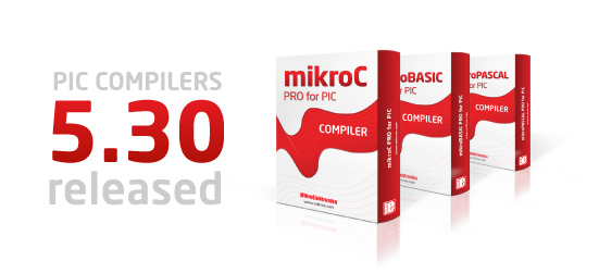 PIC compilers v5.30 released!