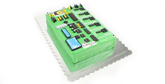 EasyPIC v7 Cake for Hollidays