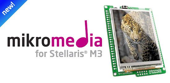New mikromedia for Stellaris® v1.01 released!