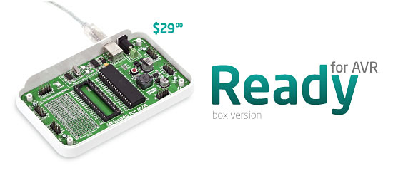New: Ready for AVR released!