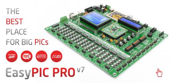 EasyPIC PRO™ v7 released!