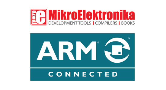 mikroElektronika is now an official ARM partner