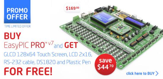 EasyPIC PRO v7 Promotional Weekend Offer!