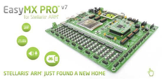 EasyMx PRO v7 board